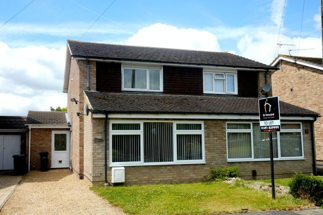 Thumbnail Semi-detached house to rent in Offas Close, Benson, Wallingford