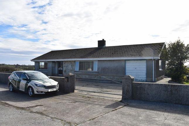 Thumbnail Detached bungalow to rent in Trelech, Carmarthen