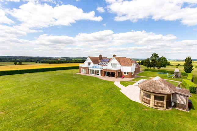 Thumbnail Detached house for sale in Chalbury, Wimborne, Dorset