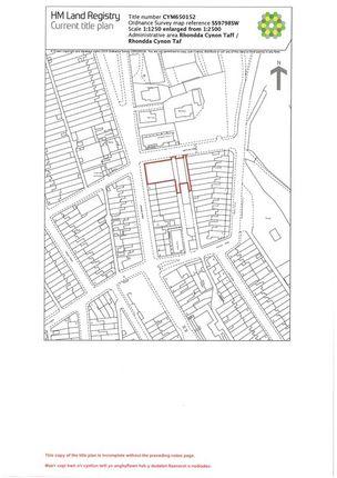 Photo 1 of Building Plot Institute Street, Ceridwen Street, Ferndale, Maerdy CF43