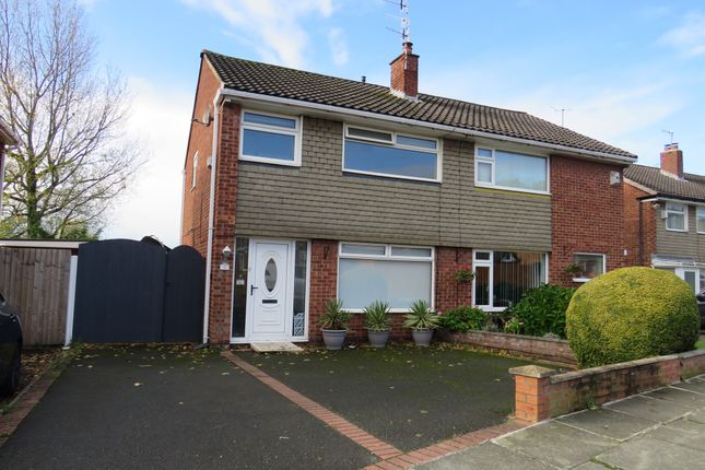 Thumbnail Semi-detached house for sale in Overton Way, Prenton