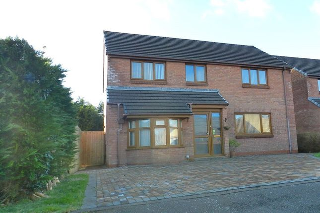 Thumbnail Detached house for sale in Redhill Park, Haverfordwest, Pembrokeshire