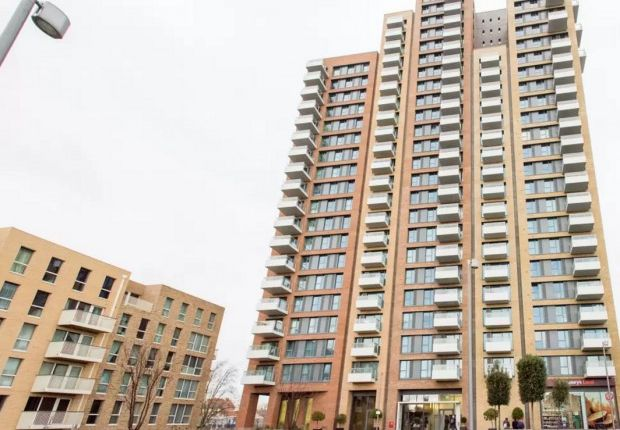 Thumbnail Flat for sale in Marner Point Jefferson Plaza, London