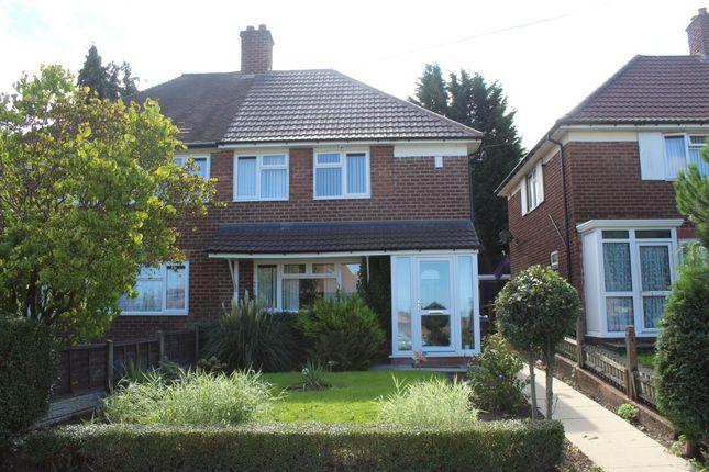 Thumbnail Semi-detached house for sale in Kelynmead Road, Birmingham