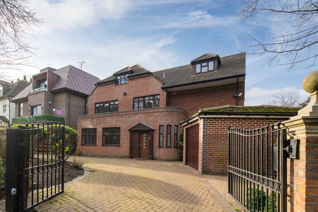 Thumbnail Detached house to rent in West Heath Road, London