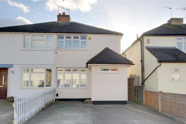 3 bed semi-detached house for sale in Weston Avenue, Addlestone, Surrey