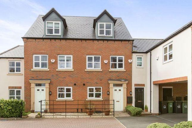 Thumbnail Town house for sale in Isherwoods Way, Shrewsbury, Shropshire