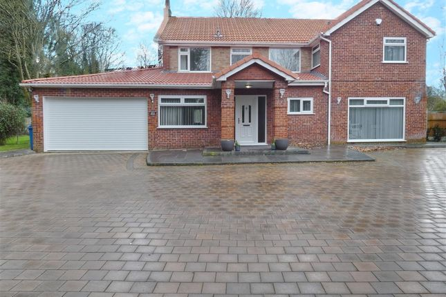 Thumbnail Detached house for sale in Birch Grove, Naylors Road, Huyton, Liverpool