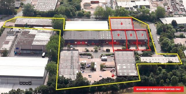 Light industrial to let in Wardley Industrial Estate, Shield Drive, Worsley, Manchester, Greater Manchester