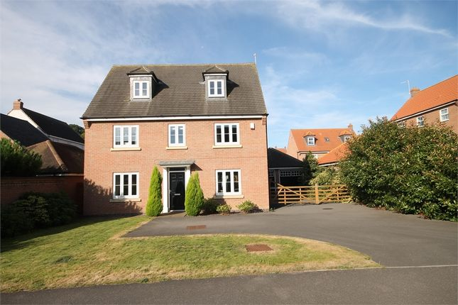 Thumbnail Detached house for sale in Dale Way, Fernwood, Newark, Nottinghamshire.