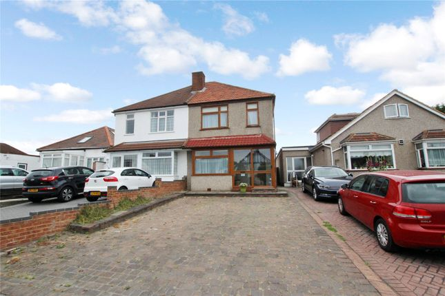 Thumbnail Semi-detached house for sale in Blackfen Road, Blackfen, Kent