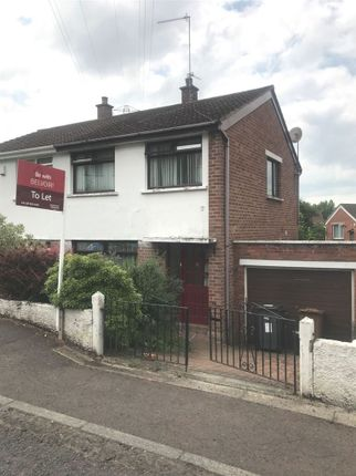 Thumbnail Semi-detached house to rent in Woodbreda Drive, Belfast