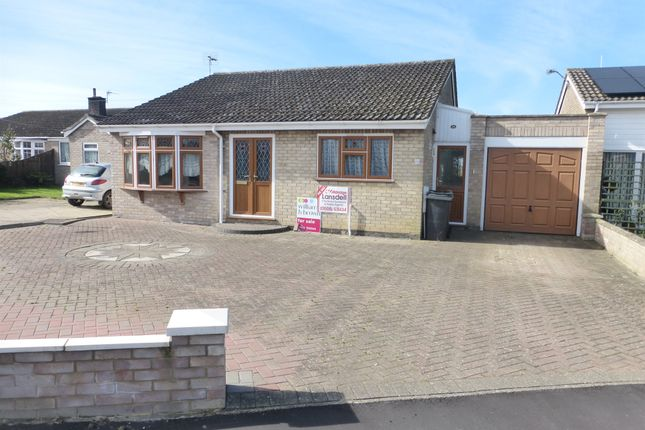 Thumbnail Detached bungalow for sale in St Michaels Road, Long Stratton, Norwich