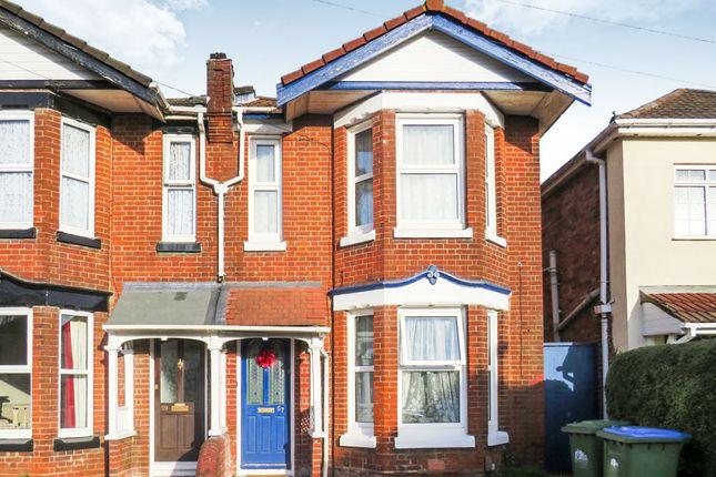 Thumbnail Semi-detached house for sale in Heysham Road, Southampton