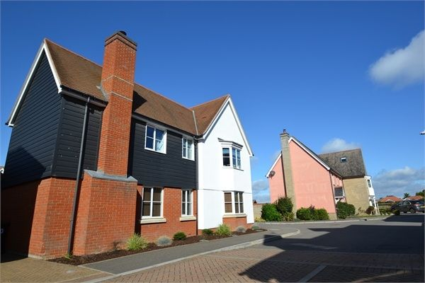 Thumbnail Detached house for sale in Walnut Drive, Mile End, Colchester, Essex