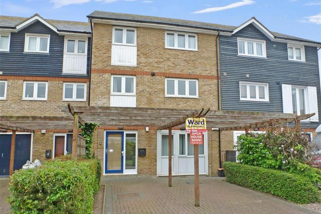 Thumbnail Town house for sale in Waterside Close, Faversham, Kent