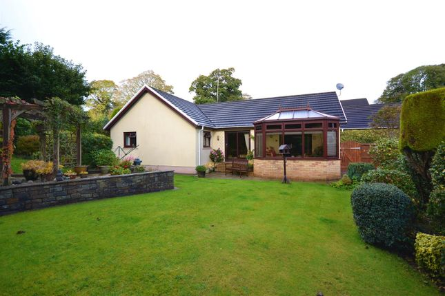 Thumbnail Detached bungalow for sale in Oakwood Grove, Haverfordwest