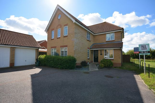 Thumbnail Detached house for sale in Thixendale, Carlton Colville, Lowestoft