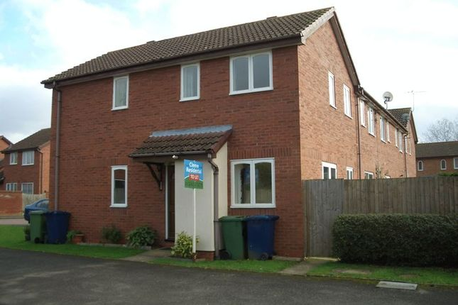 Thumbnail End terrace house to rent in Chiltern Avenue, Bishops Cleeve, Cheltenham