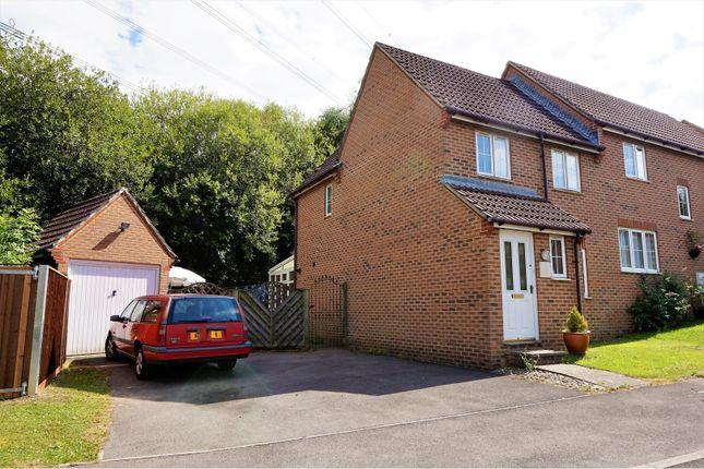 Thumbnail Semi-detached house for sale in Mollison Rise, Whiteley