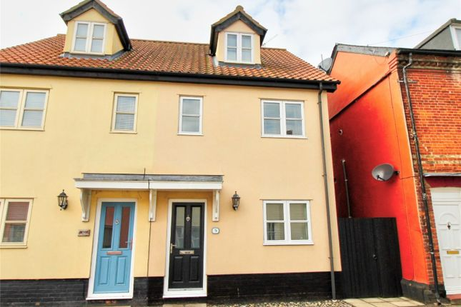 Thumbnail End terrace house for sale in East Harling, Norwich