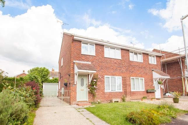 Thumbnail Semi-detached house for sale in Shepherd Drive, Wilesbrough, Ashford, Kent