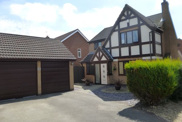 Thumbnail Detached house for sale in Copse Close, Leicester Forest East