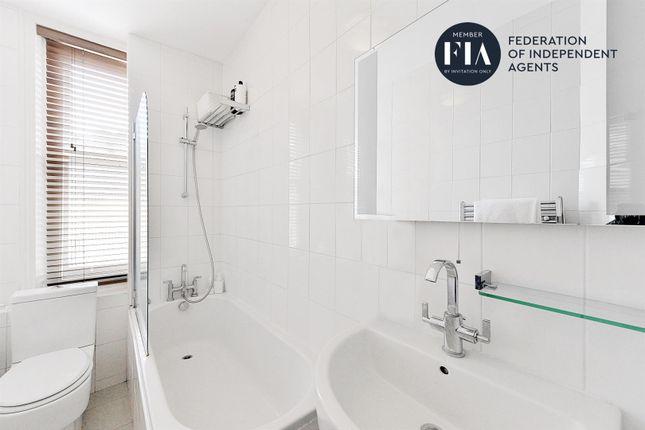 Bathroom of Hurlingham Mansions, New Kings Road, Fulham SW6
