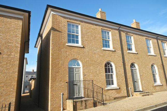 Thumbnail End terrace house to rent in Trematon Street, Poundbury, Dorchester