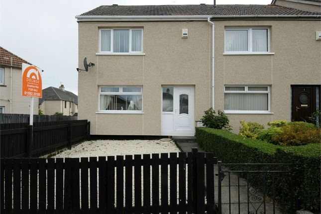 Thumbnail End terrace house for sale in Tweed Avenue, Kirkcaldy, Fife