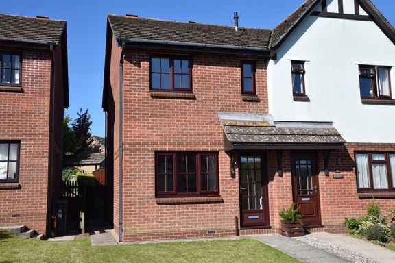 Semi-detached house to rent in King Alfred Way, Newton Poppleford, Sidmouth