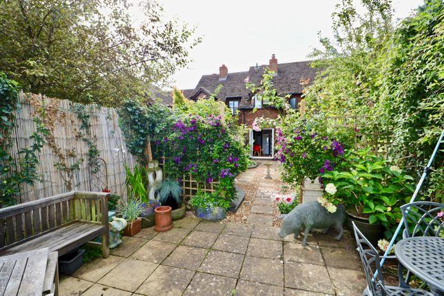 Rear Garden  of Old Town Mews, Old Town, Stratford-Upon-Avon CV37