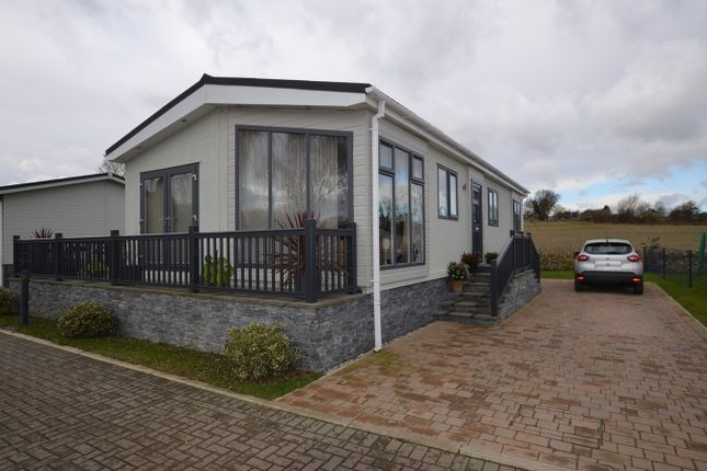 Thumbnail Mobile/park home for sale in Yarwell Mill, Yarwell, Peterborough