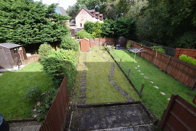Rear Garden of Huntsmead Close, Thornhill, Cardiff. CF14