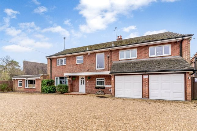 Thumbnail Detached house for sale in Ashmore Green Road, Cold Ash, Thatcham, Berkshire
