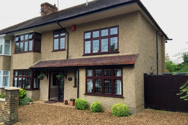 Thumbnail Semi-detached house for sale in Harold Court Road, Romford