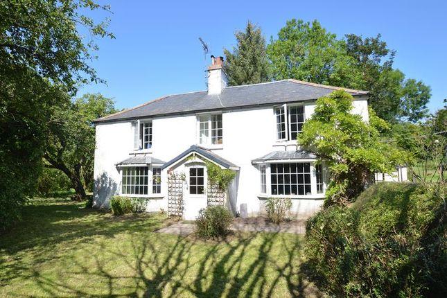 Thumbnail Detached house for sale in Mold Road, Bodfari, Denbigh