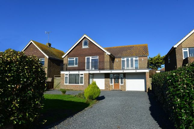 Thumbnail Detached house to rent in Marine Crescent, Goring By Sea