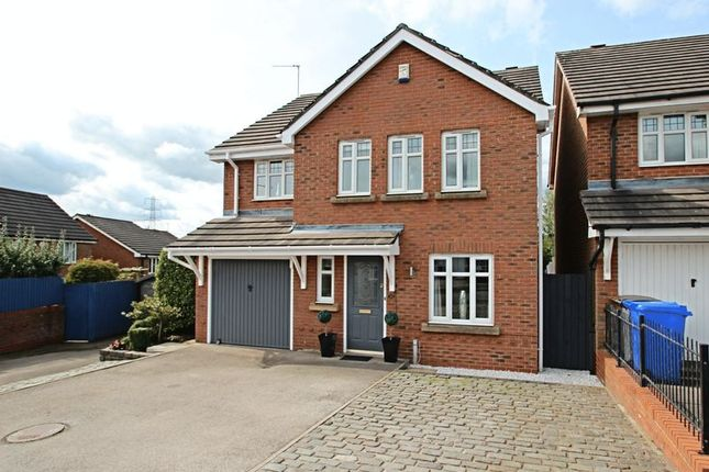 Thumbnail Detached house for sale in William Coltman Way, Sandyford, Stoke-On-Trent
