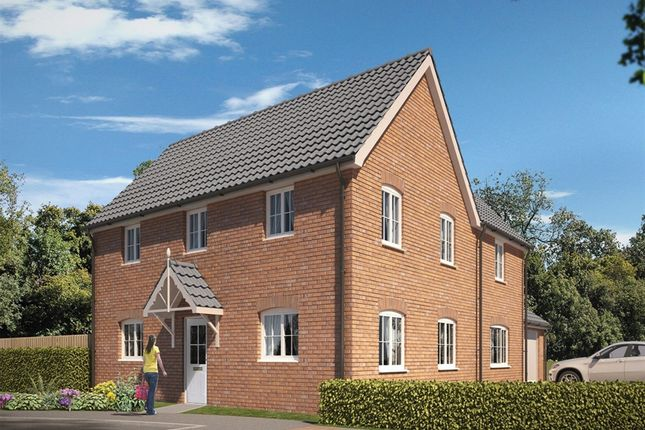 "Thumbnail Detached house for sale in ""The Kenton"" at Carsons Drive, Great Cornard, Sudbury"