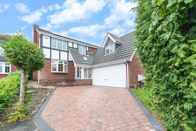 Thumbnail Detached house for sale in Montague Drive, Loughborough