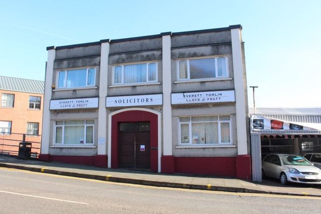Thumbnail Commercial property for sale in Clarence Street, Pontypool