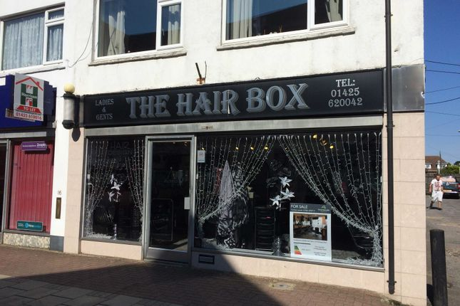 Thumbnail Retail premises for sale in Whitefield Road, New Milton
