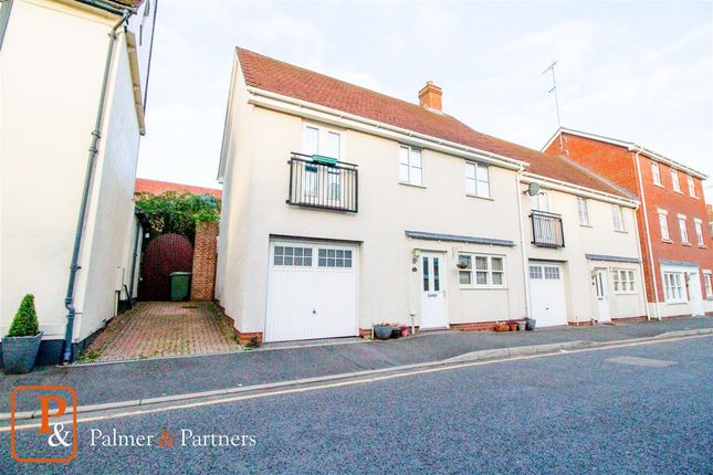 Thumbnail End terrace house for sale in Parsonage Street, Halstead