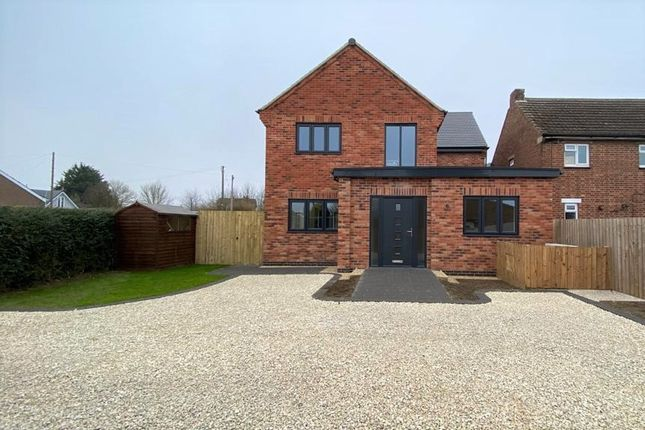 Thumbnail Detached house for sale in Station Avenue, South Witham, Grantham