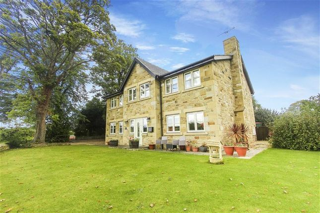 Thumbnail Detached house for sale in Lesbury, Alnwick, Northumberland