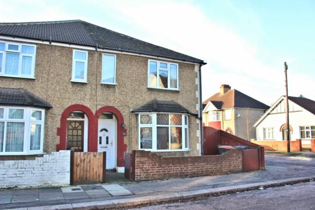 Thumbnail Semi-detached house to rent in Abbey Road, Bedford