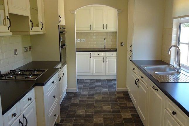 Kitchen of Dinwoodie Lodge Park Johnstonebridge, Lockerbie, Dumfriesshire. DG11