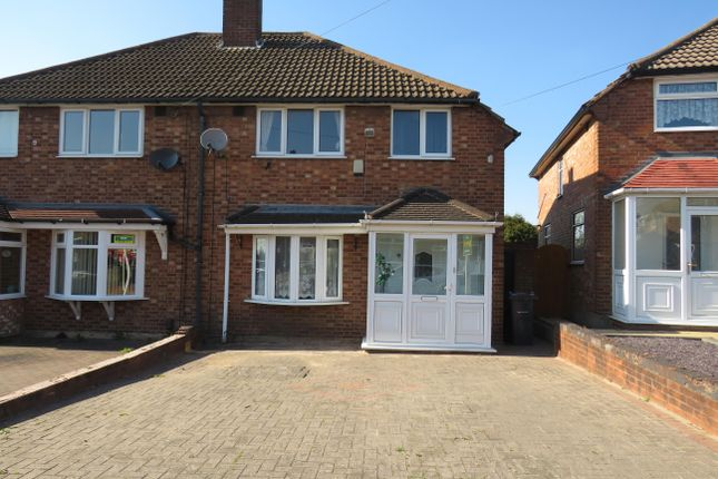 Thumbnail Semi-detached house to rent in Templeton Road, Great Barr, Birmingham