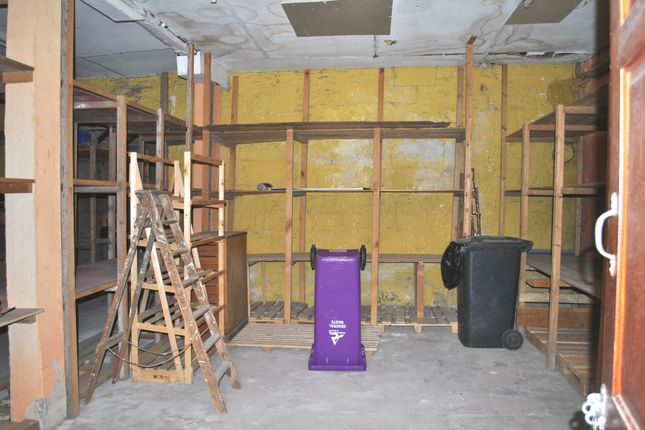 Front Storage Area